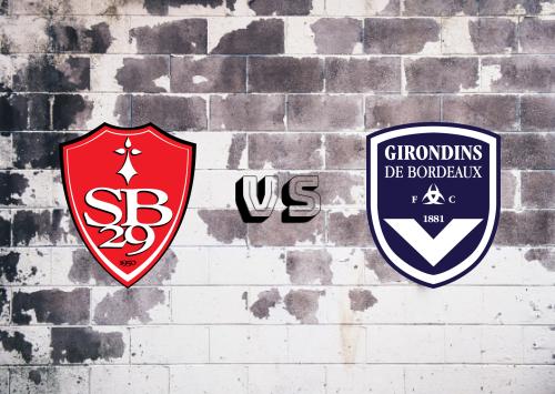 Brest vs Bordeaux  Resumen