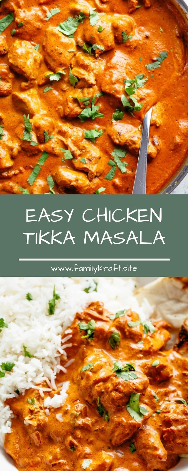 EASY CHICKEN TIKKA MASALA
