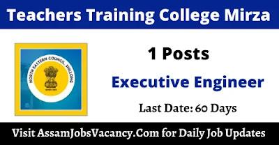 North Eastern Council Secretariat 2021 Recruitment