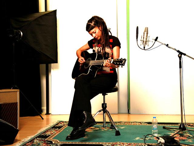 Anna-Christina from Lilygun at Unit 2 Studios London