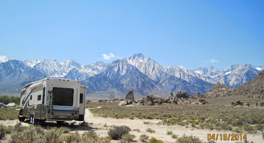 From Desert Sand to Mountain Snow, along Spectacular, Historic and Scenic US Hwy 395