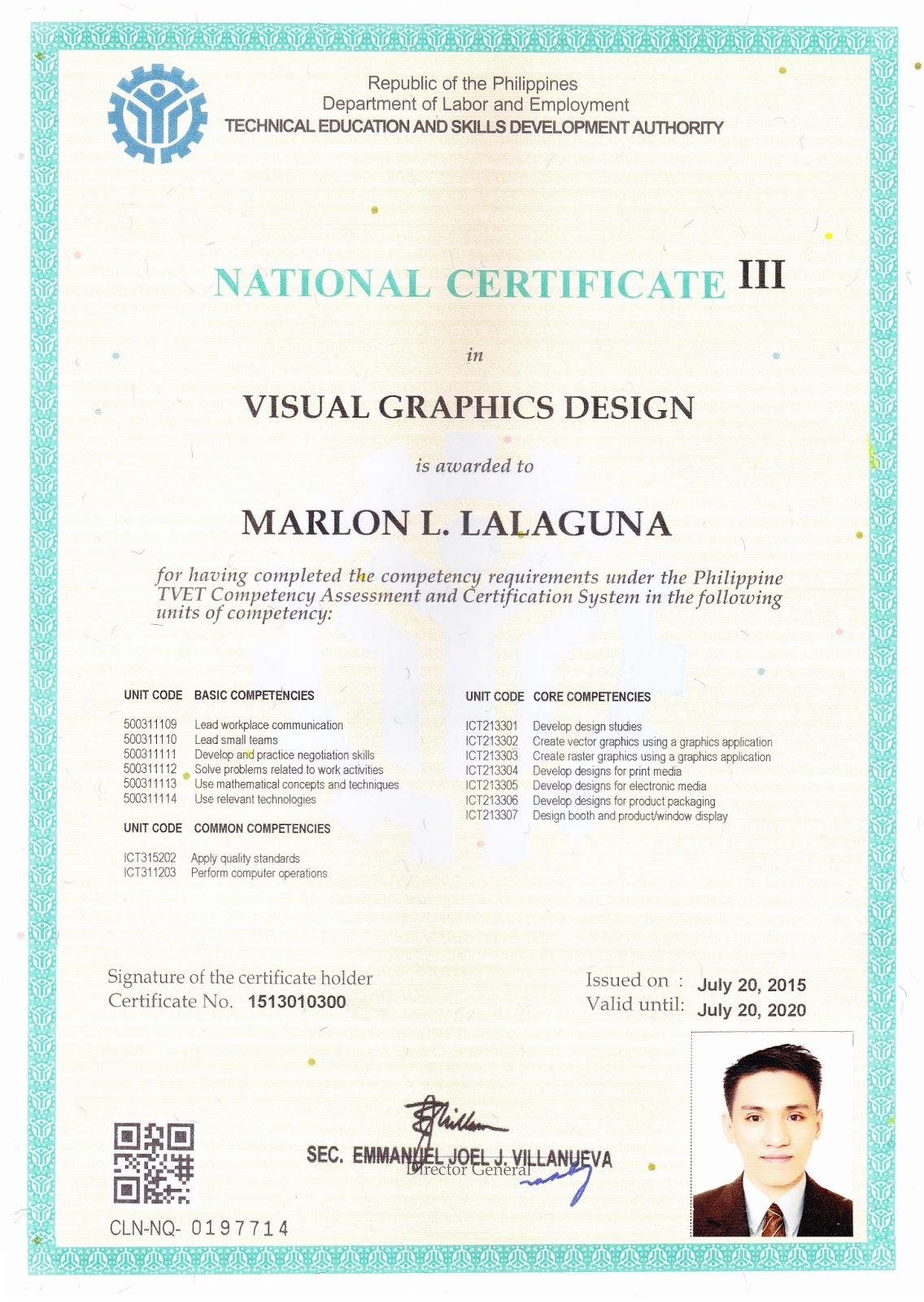 The Journey Of A Brave Teacher Visual Graphics Designing Nciii