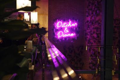 Pitcher & Piano Sheffield Neon