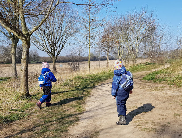 Küsten-Spaziergänge rund um Kiel, Teil 1: Die Steilküste bei Stohl. Mit Kinder kann man iin Schleswig-Holstein und der Kieler Umgebung großartig spazieren gehen.