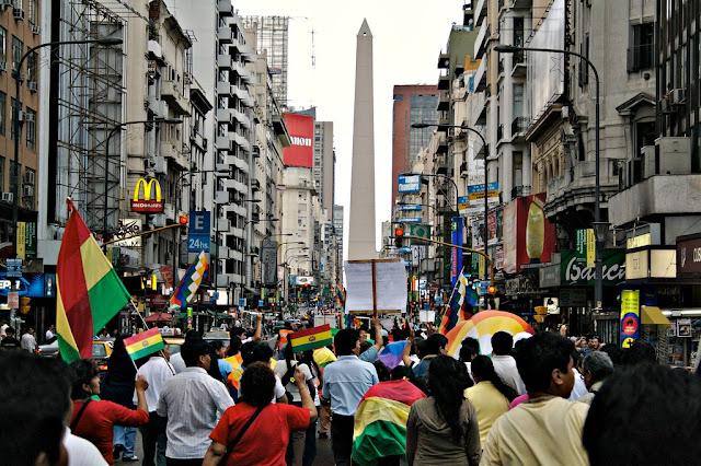 Bolivianos em Buenos Aires
