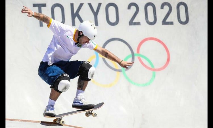 Pedro Barros conquista terceira prata do skate brasileiro em Tóquio