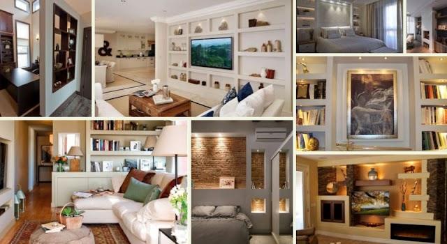 Κατασκευές-Διαμορφώσεις χώρου με Γυψοσανίδα