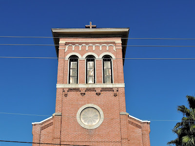 Church Tower - Our Lady of Guadalupe Catholic Church in the East End