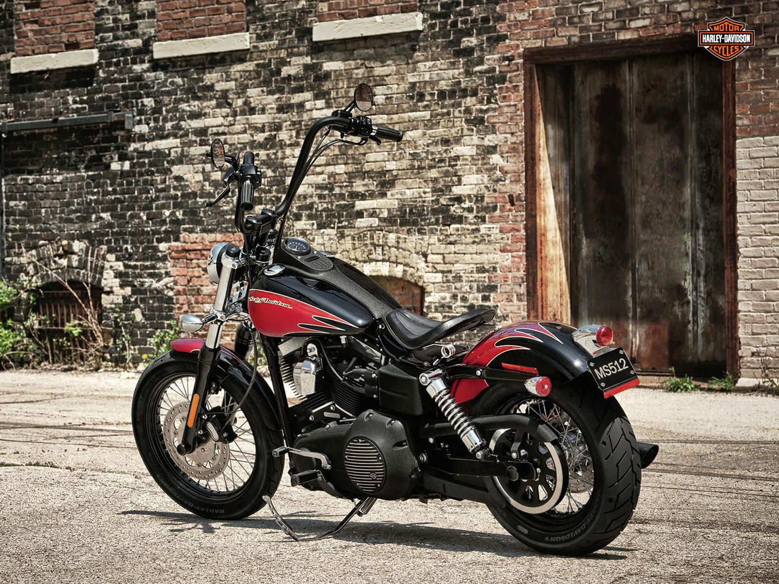 Harley Davidson 2012: 2012 FXDB Dyna Street Bob Harley-Davidson Pictures, Review