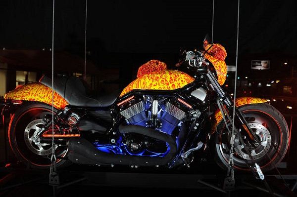 "Harley-Davidson Cosmic Starship ""Million Dollar Harley"""