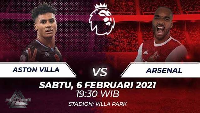 Prediksi Aston Villa Vs Arsenal