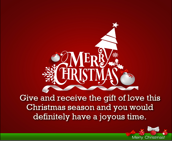 Merry Christmas Wishes and Short Christmas Messages , Short Christmas wish