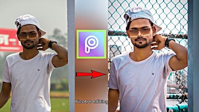 PicsArt editing change background PicsArt manipulation