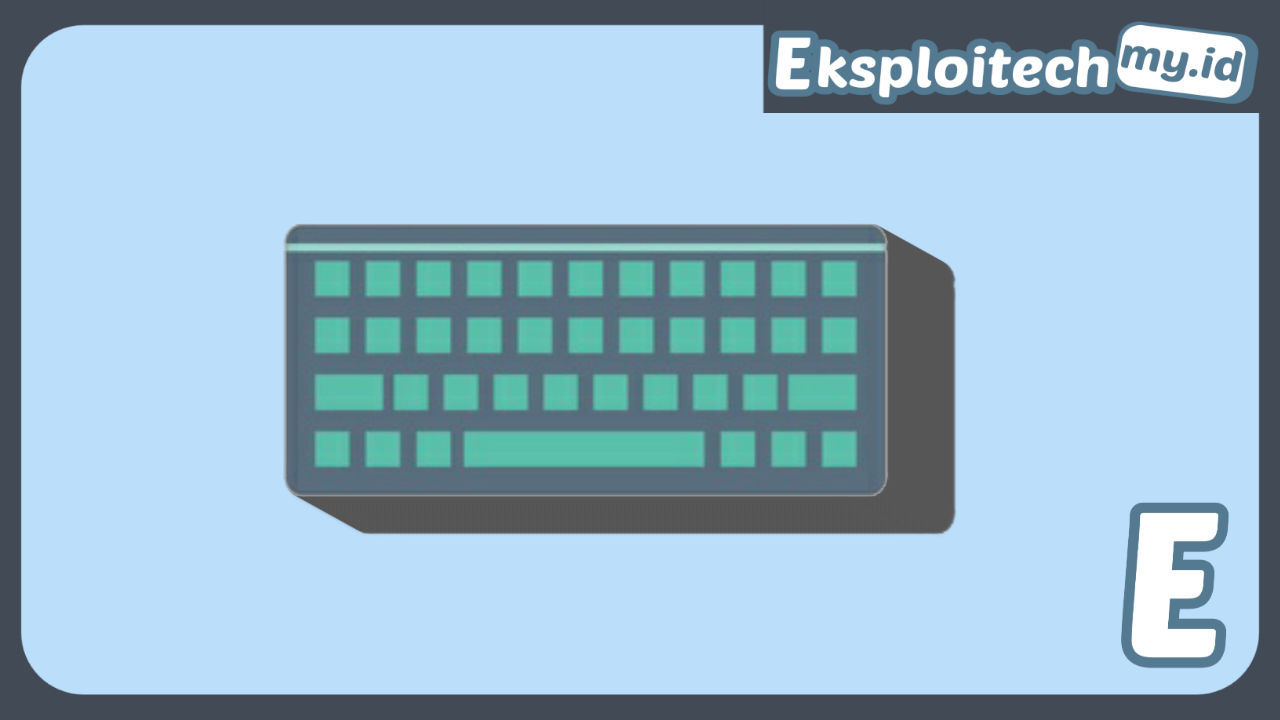 Jenis Jenis Keyboard Komputer