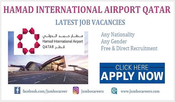 Driver jobs at Hamad International Airport 2021