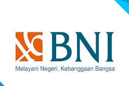 Rekrutmen Lowongan Kerja PT BNI (Persero) Tbk - Teller
