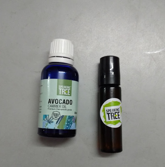 Speaking Tree Avocado Carrier Oil Review and Pictures