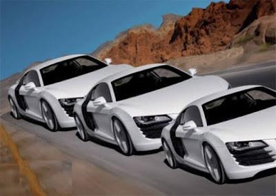 Optical Illusion-Cars