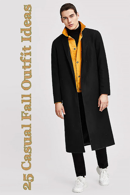 SHEIN Men Button Front Notch Neck Solid Coat