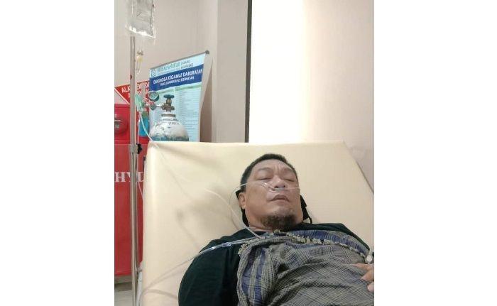 Fotonya Dirinya Tengah Diinfus Beredar di Media Sosial, Ustadz Yahya Waloni Dikabarkan Sedang Sakit