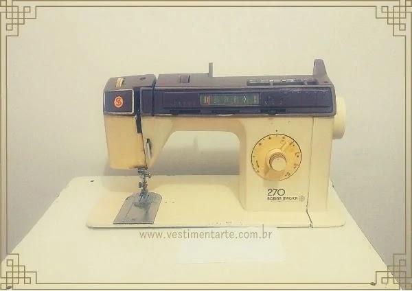 Minha Máquina de Costura Singer 270 Bobina Mágica