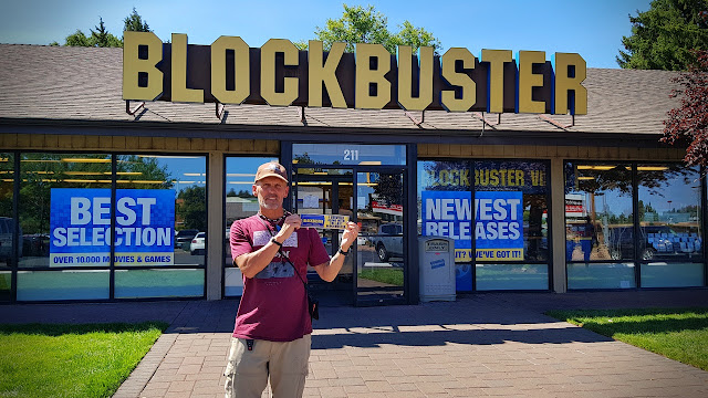 The last Blockbuster is still going strong in Bend OR...