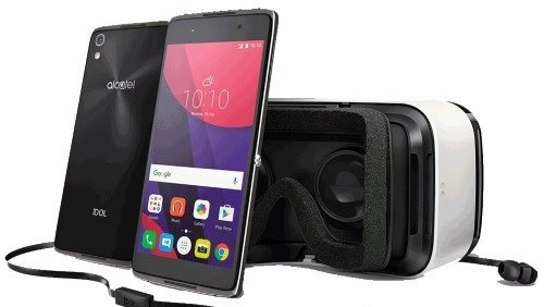 O smartphone Alcatel Idol 4 vem com óculos de realidade virtual