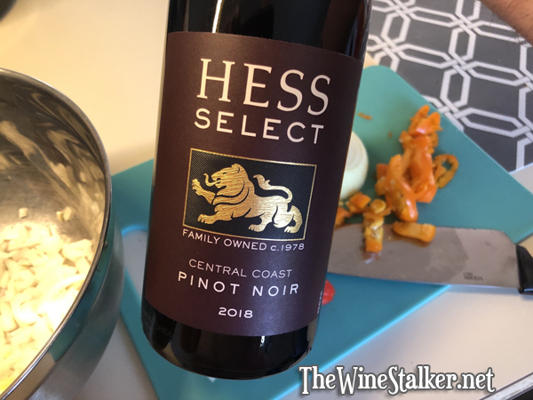 Hess Select Central Coast Pinot Noir 2018