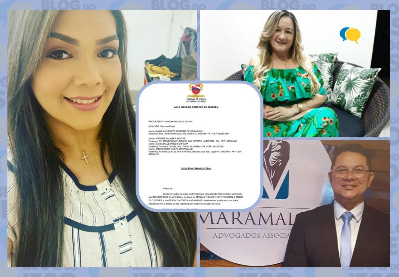 Justiça bloqueia bens de ex-prefeita por calote de R$ 1,1 milhão no Banpará e Banco do Brasil