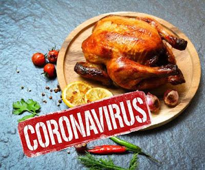 Corona Virus Non-Veg food