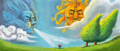 Image result for the wind and the sun