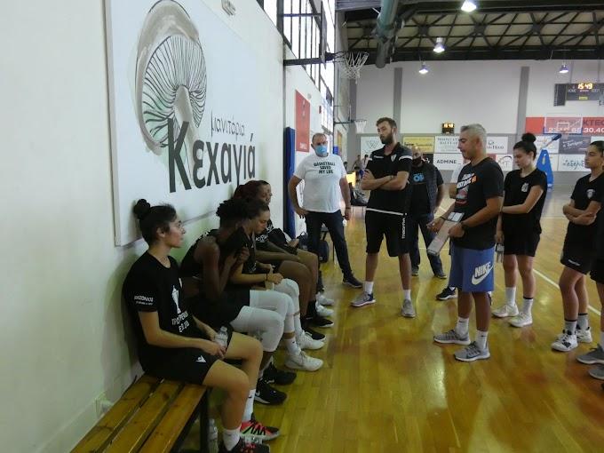 Φιλική ισοπαλία μεταξύ των γυναικών Παναθλητικού και ΠΑΟΚ-Φωτορεπορτάζ