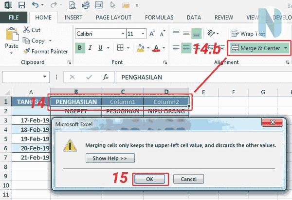gbr.8 Cara Membuat Tabel Microsoft Excel Nandur93