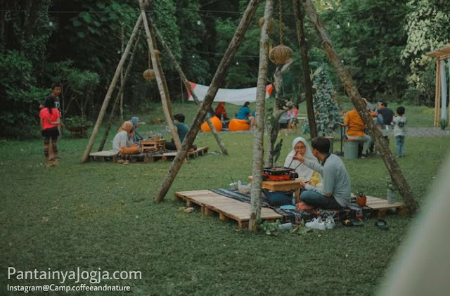 camp coffee and nature jogjakarta