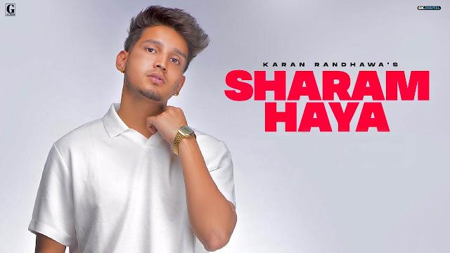 Sharam Haya Lyrics – Karan Randhawa    Rambo