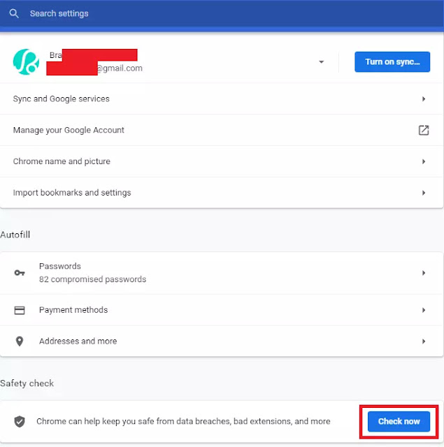 cara mengetahui password yang dibobol di google chrome Cara Mengetahui Kata Sandi yang Dibobol di Google Chrome