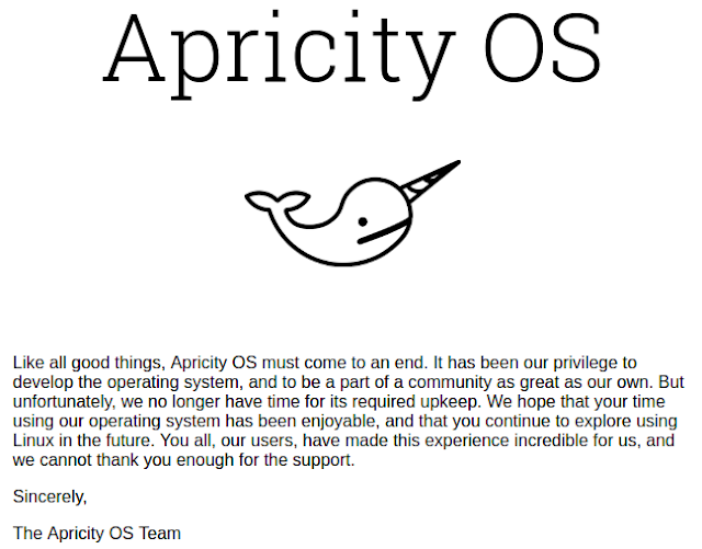 Apricity OS shut down