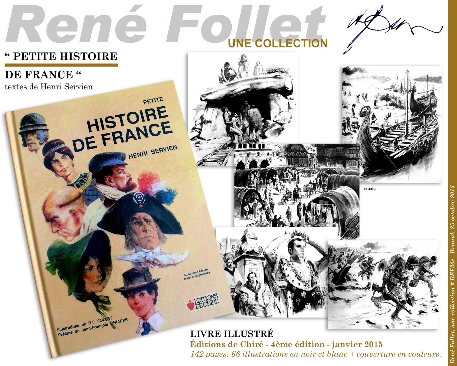 Rene Follet Une Collection Petite Histoire De France