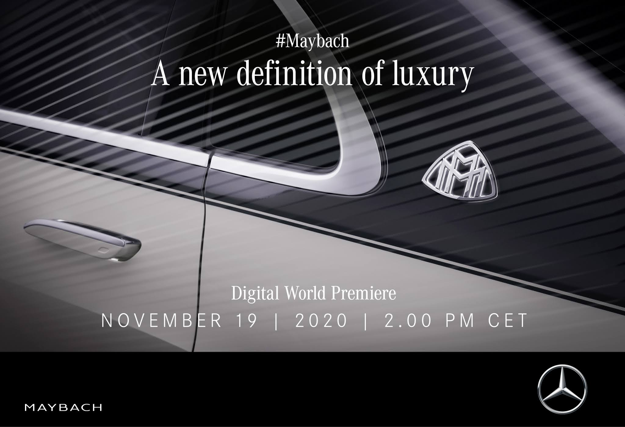 Mercedes-Maybach Clase S: se presenta este jueves