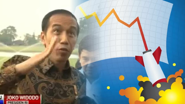 Wartawan Senior: Alhamdulillah, Pertumbuhan Ekonomi Era Jokowi Meroket Tapi ke Bawah
