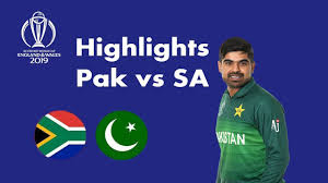 Pak vs SA ICC Cricket World Cup 2019 highlights, Probability of Pak to qualify