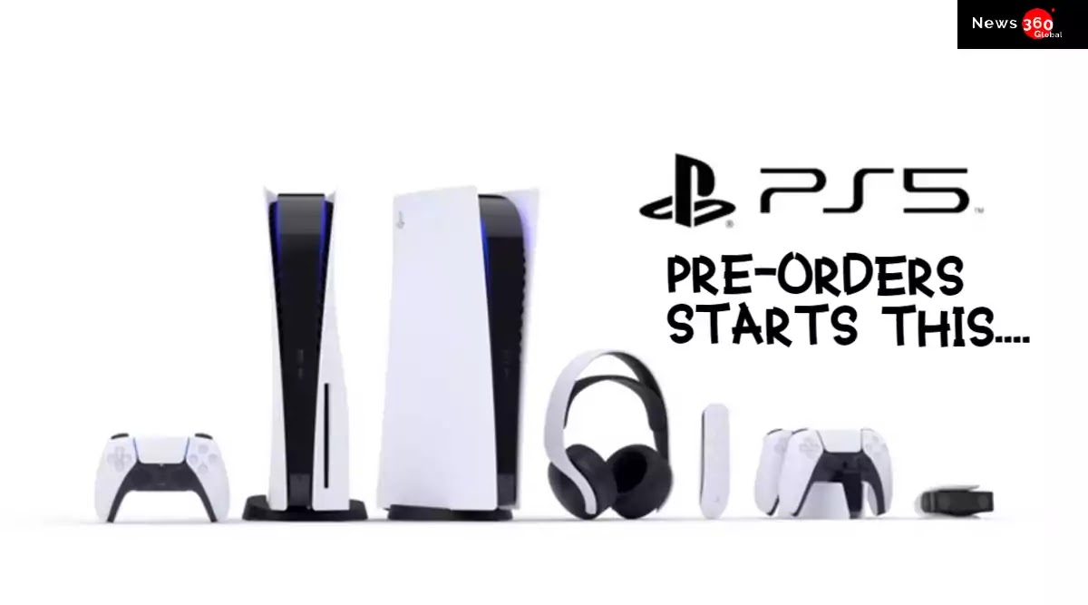 PlayStation 5 Pre-booking will start in India, PS5 sale date and details