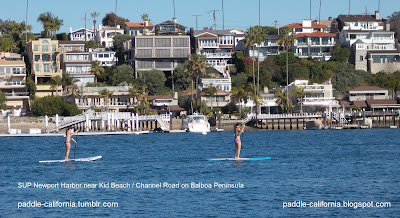 Stand Up Paddle Board Newport Beach Orange County California Sup Harbor Near Kid