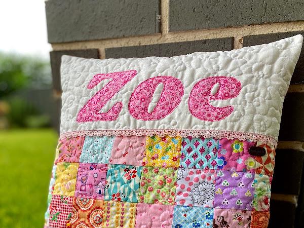 Custom Cushion for Zoe