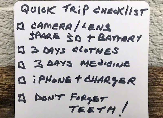 checklist, Japan, travel, packing