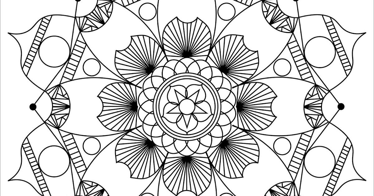 schöne mandalas malvorlagen zum drucken und ausmalen