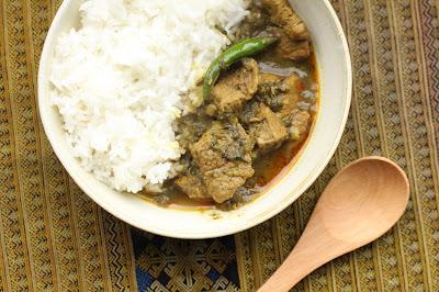 curry birman au lahpet maison