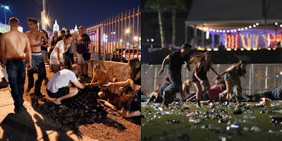 Photo of Las Vegas shooting