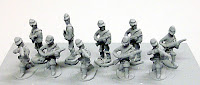 PR15 Dismounted cavalry Skirmishing Each pack contains 20 models