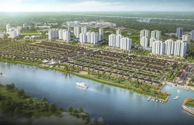 phân khu riveria dự án waterpoint bến lức